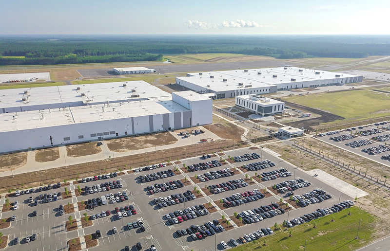 沃尔沃汽车首座美国工厂落成投产