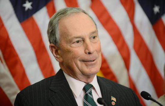 布隆伯格:将捐8000万美元帮民主党夺回众议院