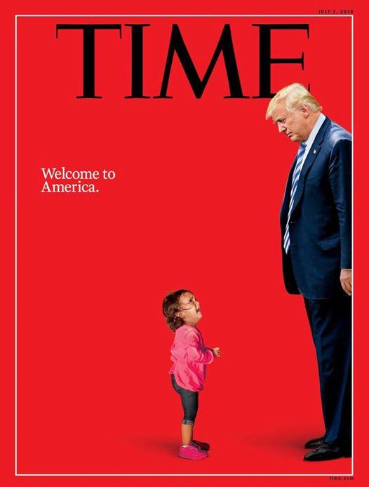 特朗普,又上封面了!所反映内容极具讽刺之意