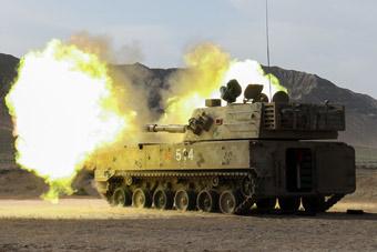 全面覆盖!我军122毫米自行火炮天山下秀火力