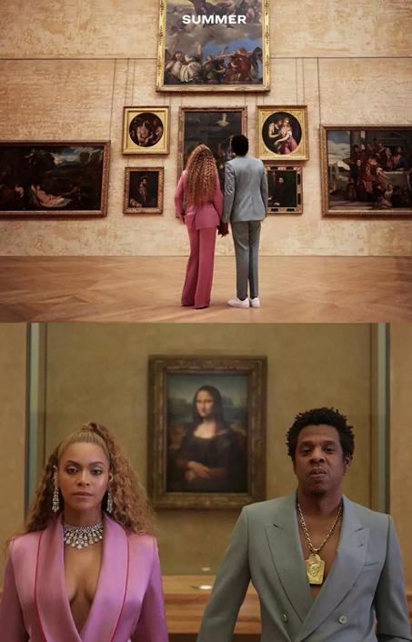 Beyoncé带你游转卢浮宫