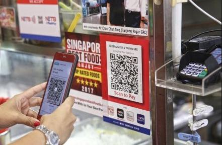 新加坡正在效仿中国打造一个数字支付社会