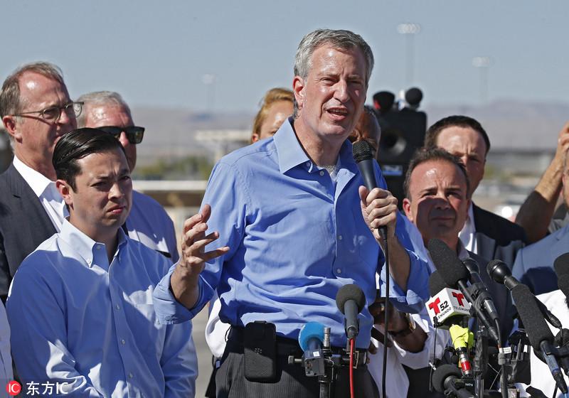 美多地市长齐聚美墨边境 抗议特朗普移民政策