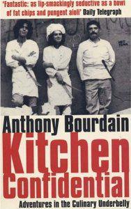 第一版 Kitchen Confidential 的封面