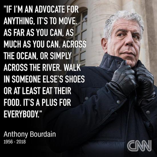 安东尼·波登:摇滚厨师、世界公民与黑暗之心