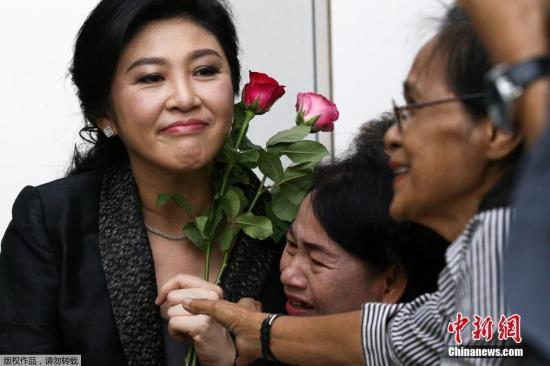 英拉离开泰国10个月后首度发声:感谢生日祝福