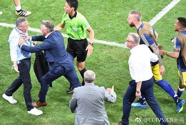德国瑞典替补席赛后冲突 德国队正式道歉