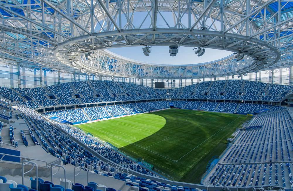世界杯场馆巡礼:下诺夫哥罗德体育场