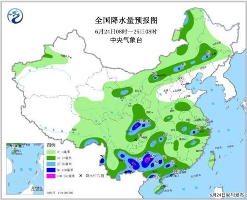 西南等地有分散性强降雨 华北黄淮等地区有高温天气