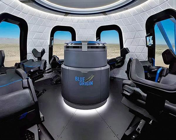 """蓝色起源将于明年开售""""太空机票"""" 价格未定"""