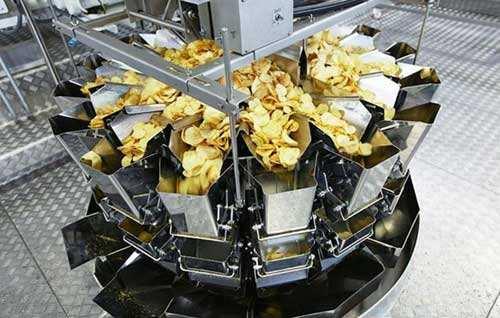 桶装薯片是这样生产的