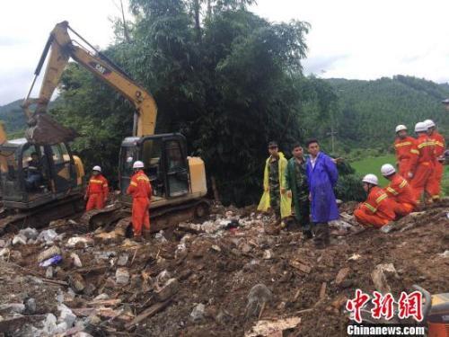 广西凌云山体滑坡致6人遇难,失踪人员遗体全部找到