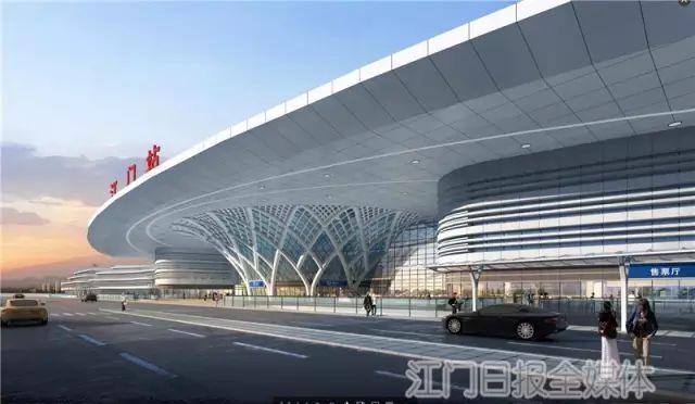 珠西枢纽江门站将汇聚江湛铁路等6条铁路,成广东第四大车站