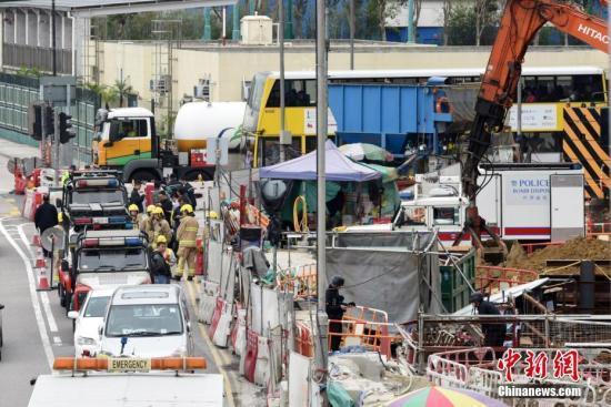 港铁沙中线红磡站工程疑有钢筋被剪短 港铁回应