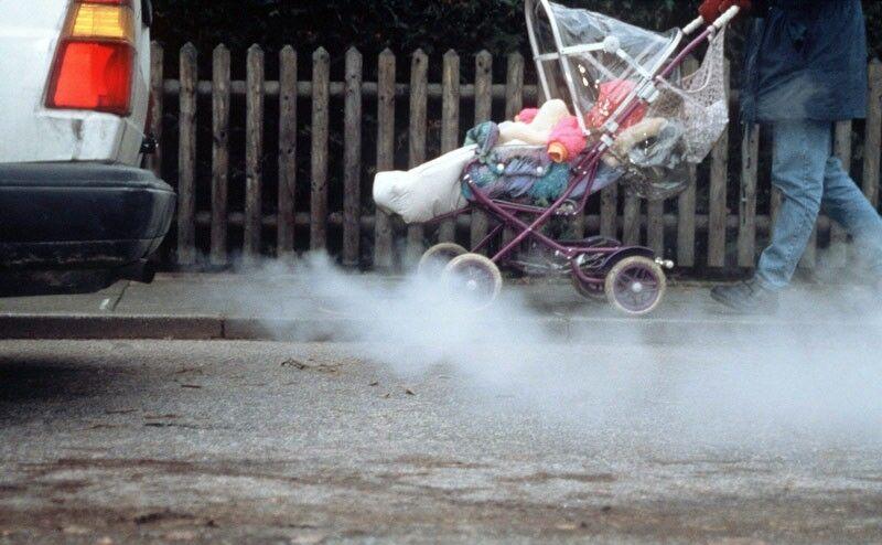 研究:儿童更易吸入汽车尾气 比成年人高出30%