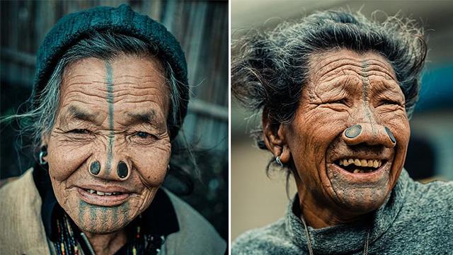 匪夷所思!印度部落女性塞鼻毁容以防被诱拐