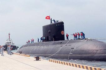 越南海军最神秘潜艇部队日常曝光 曾巡航南海