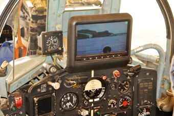 尼日利亚展示歼7战机维护能力 这屏幕亮了