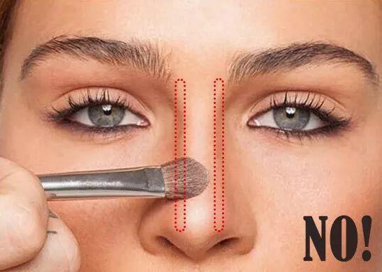 高鼻梁怎么画步骤图