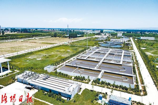 伊滨污水处理厂:收集处理污水 改善生态环境