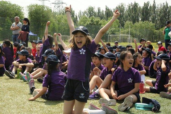 哈罗北京小学部运动会