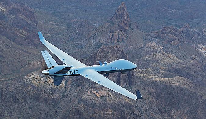 """英MQ-9B""""空中守卫者""""无人机或将再创飞行记录"""