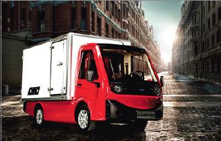 容大智造发布迈图Metro II电动网联物流车及无人驾驶物流车底盘