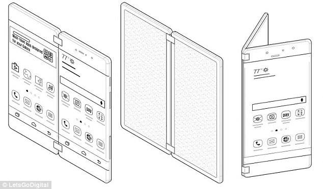专利显示三星正在研发一款无按钮、无边框的手机