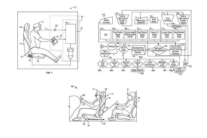 福特曝光新专利:可声控调节电动座椅