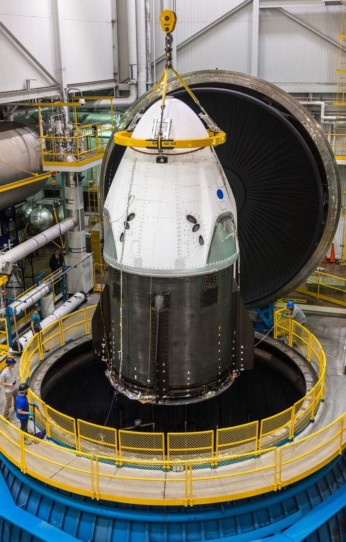 NASA测试SpaceX载人龙飞船 未来将人类送上太空