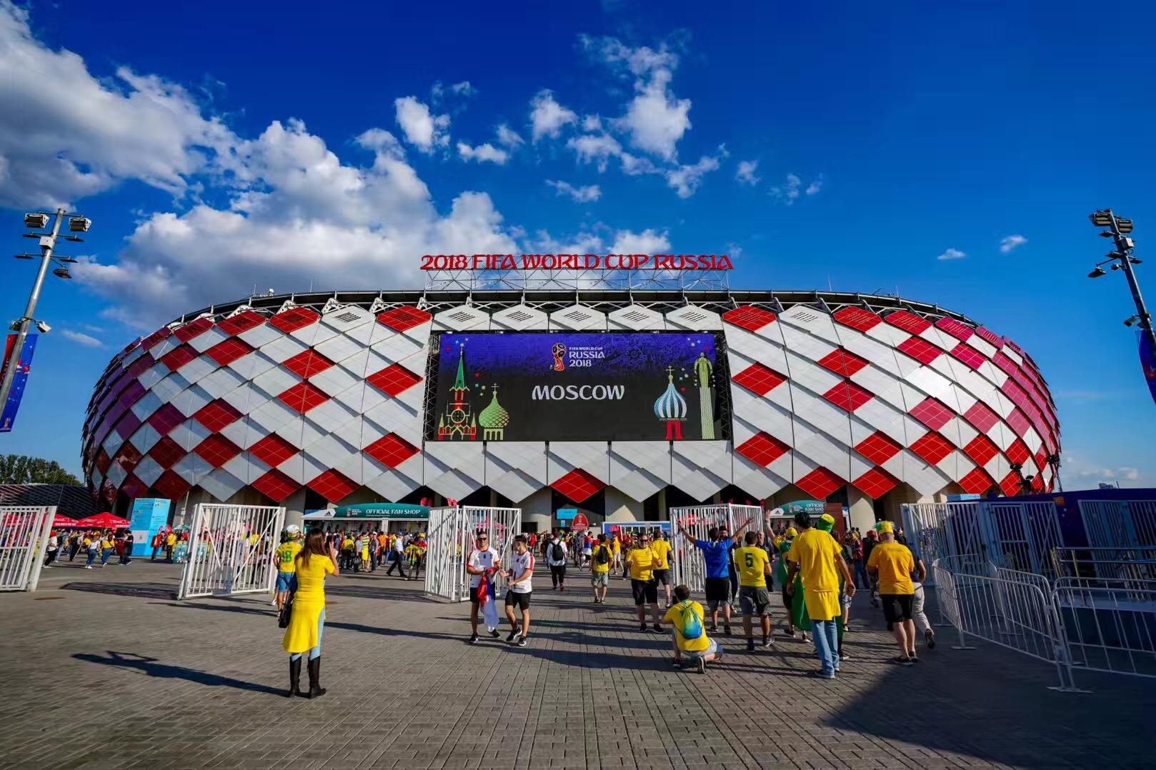 世界杯场馆巡礼:斯巴达克竞技场
