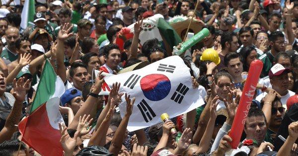 韩国救了墨西哥,墨西哥掀起感谢韩国狂潮:我们都是韩国人!