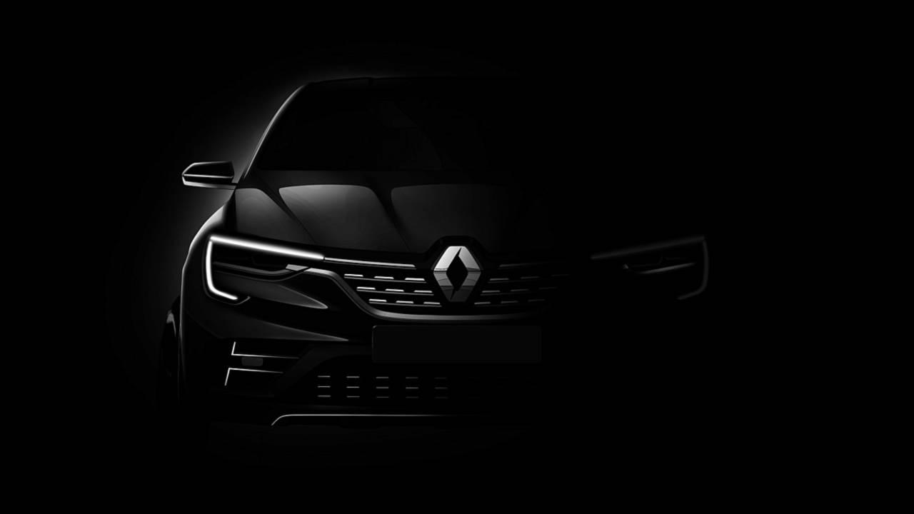 雷诺全新SUV预告图发布 8月亮相莫斯科车展