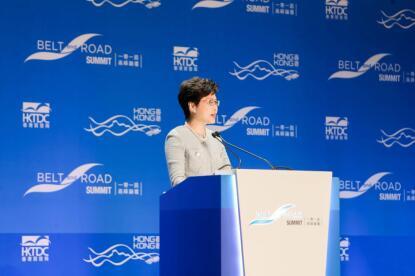 """把握""""一带一路""""合作机遇 联想助力香港智慧城市建设"""