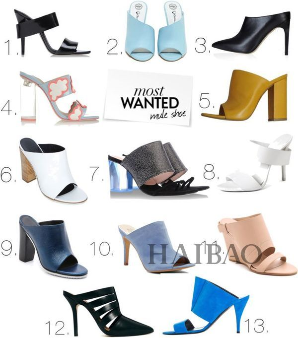 舒适度堪比拖鞋的穆勒鞋,有这样一双舒适时髦的鞋,难道不想天天穿?