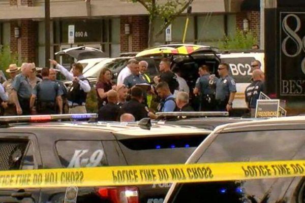 美国马里兰州一报社发生枪击事件 至少5人死亡
