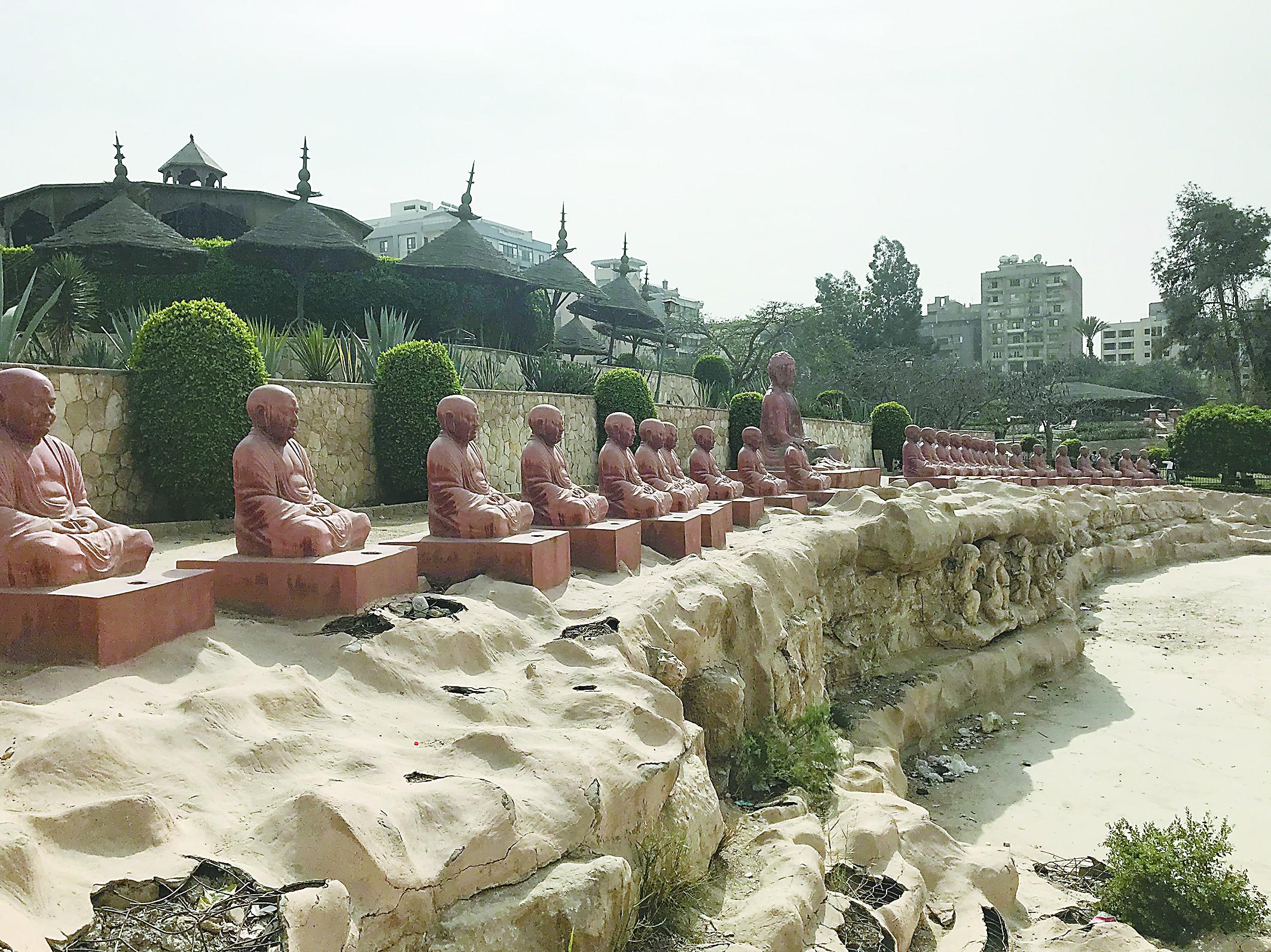 """埃及有个百岁""""日本公园"""""""