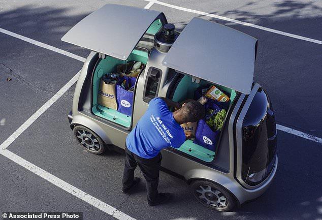 美国连锁超市巨头将测试小型无人送货车