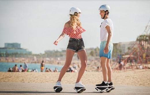 """英媒:赛格威正式发布自平衡电动""""溜冰鞋"""""""
