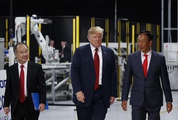 特朗普称日本软银集团对美投资额将扩大至720亿美元