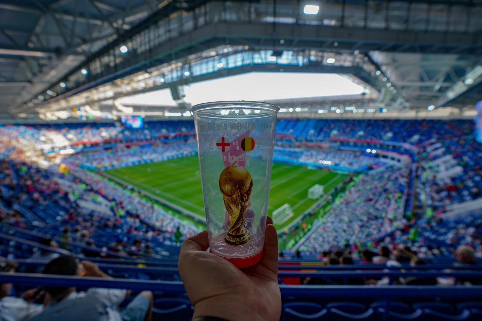 组图:加里宁格勒体育场迎其最后一场世界杯之战