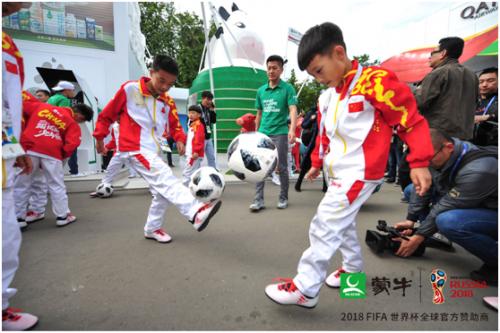 蒂兰圣雪冰淇淋助力中国少年,品质过硬进驻世界杯
