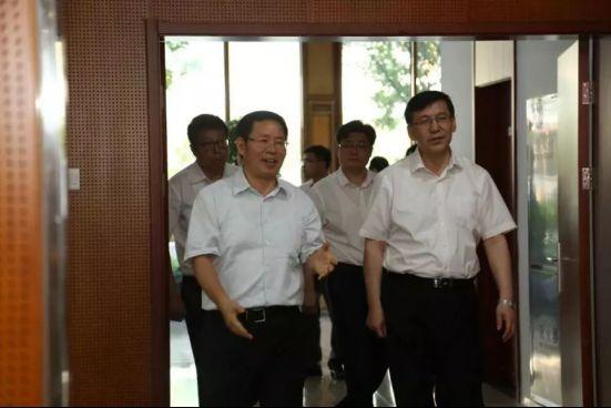 北京市阴和俊副市长一行莅临用友产业园调研