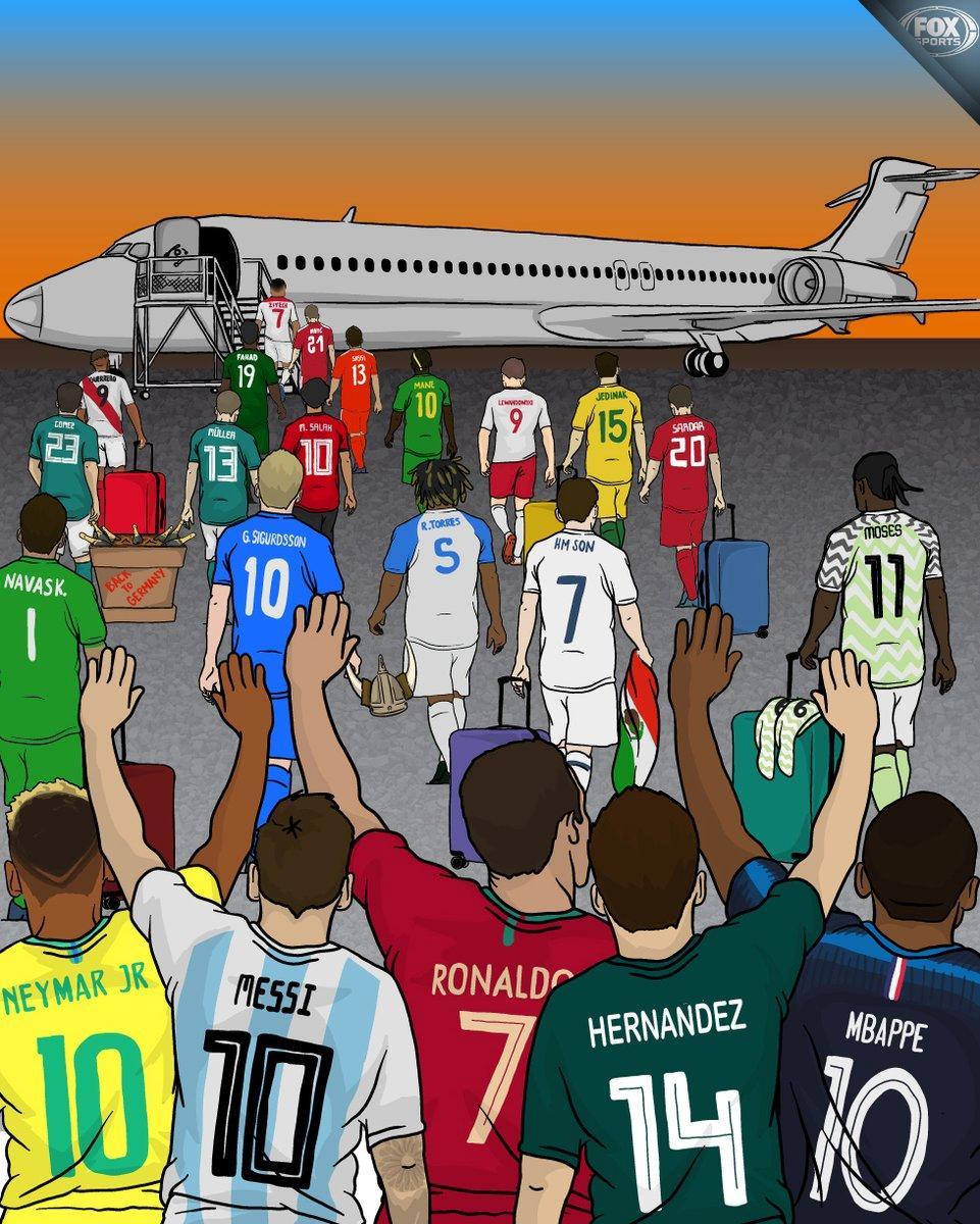世界杯最爆炸剧本!两大球王决一死战 想看的举手