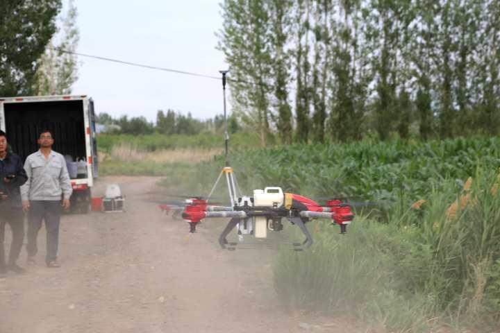 农业植保无人机技术请进村 增收致富有保障