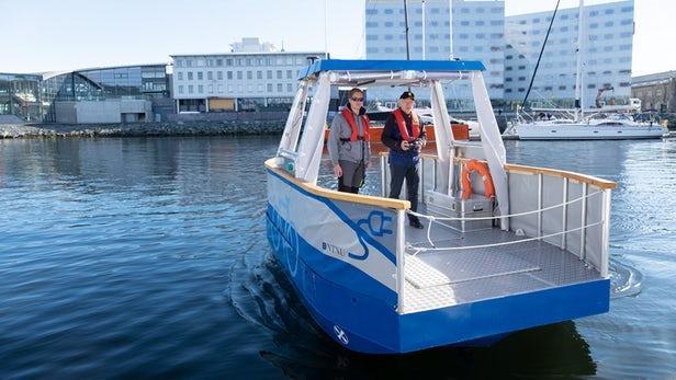 无人驾驶电动渡轮原型将在挪威投入使用