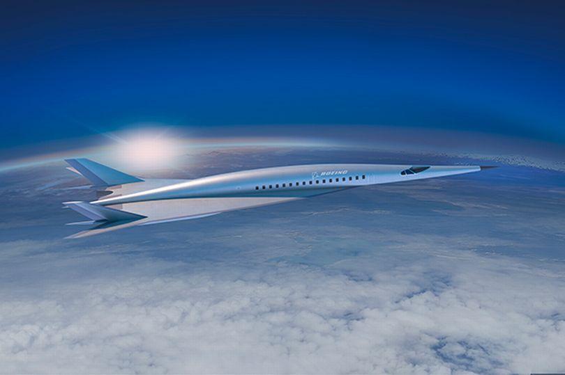 波音推未来超音速喷气概念飞机:伦敦到纽约2小时