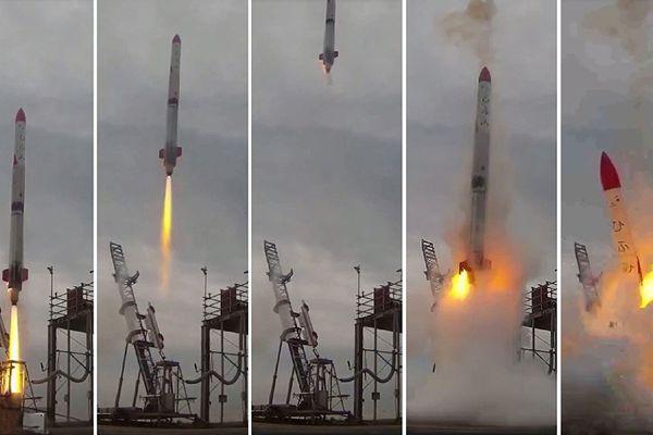 日本企业发射小型火箭失败 升空仅4秒就坠毁