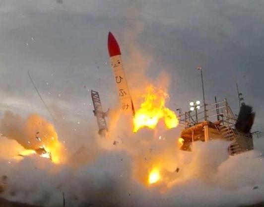 日本民企试射小型火箭再度失败 升空数秒就爆炸