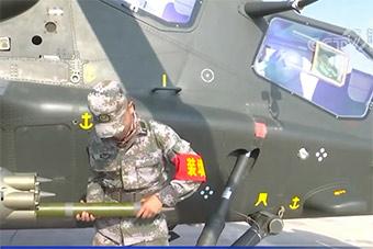 原来如此:直-10的火箭弹是这样装填的